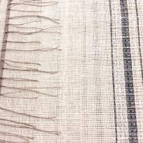 Handwoven, ready for the dye process. 2018.